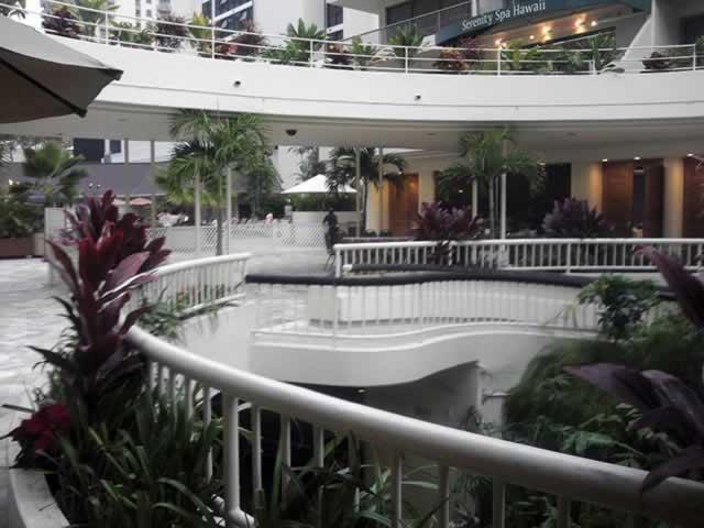 会場となったホテルの内観