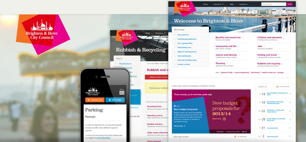 Brighton Hove City Council Website