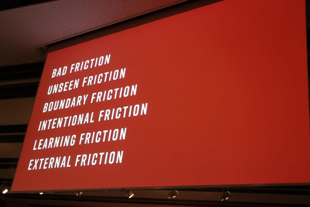 スライド 6つのフリクションの紹介