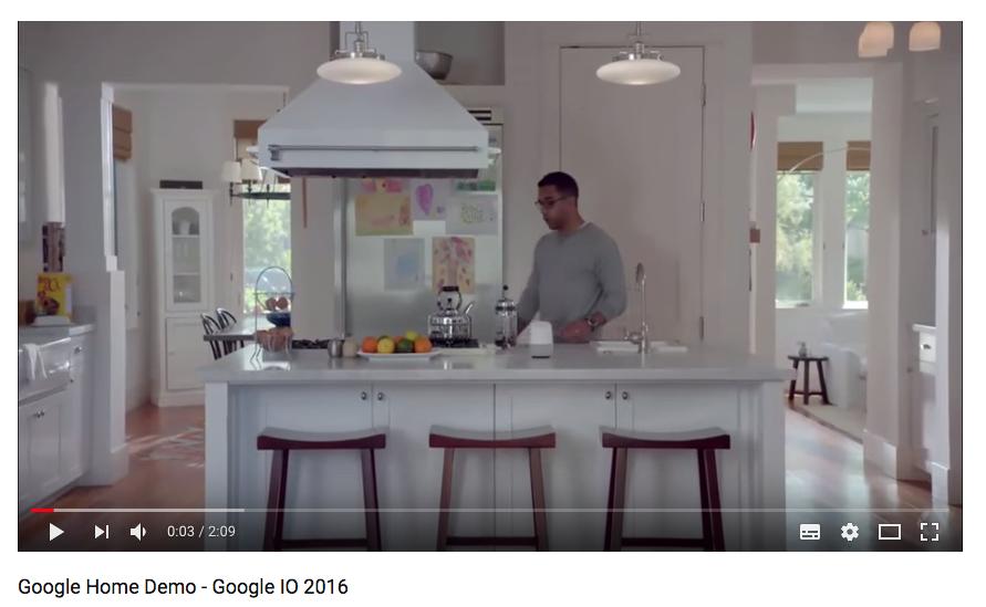 Google Home Demo - Google IO 2016