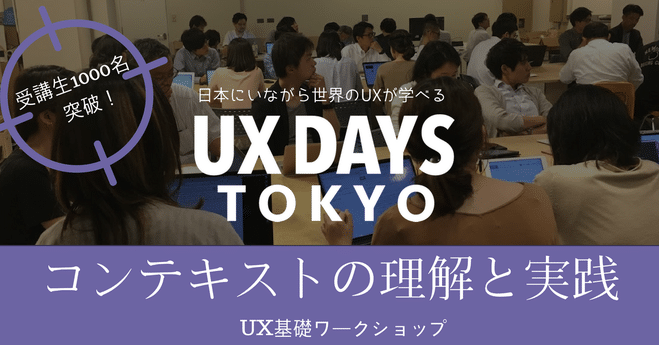 「コンテキストの理解と実践」UXワークショップ