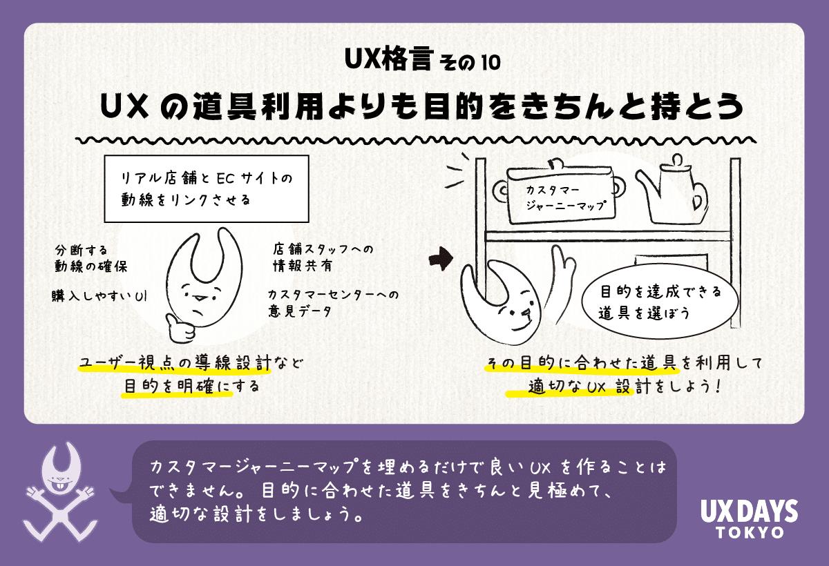 UXの道具利用よりも目的をきちんと持とう