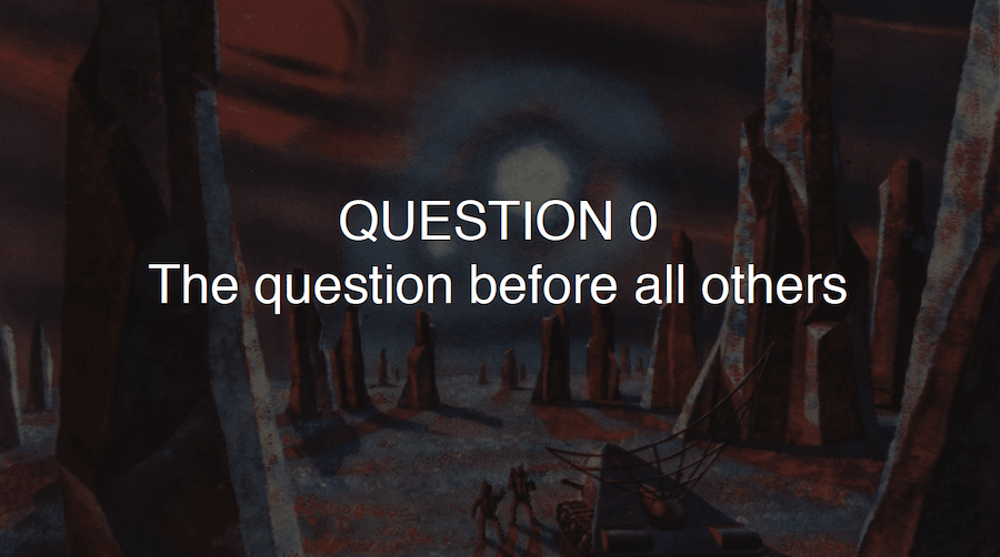 QUESTION 0