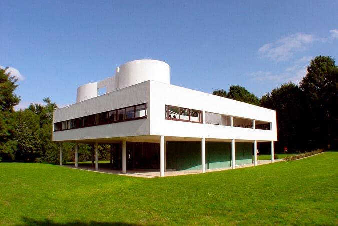サヴォア邸(設計:ル・コルビュジェ)