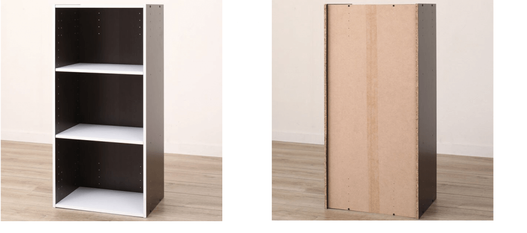 家具の表と裏