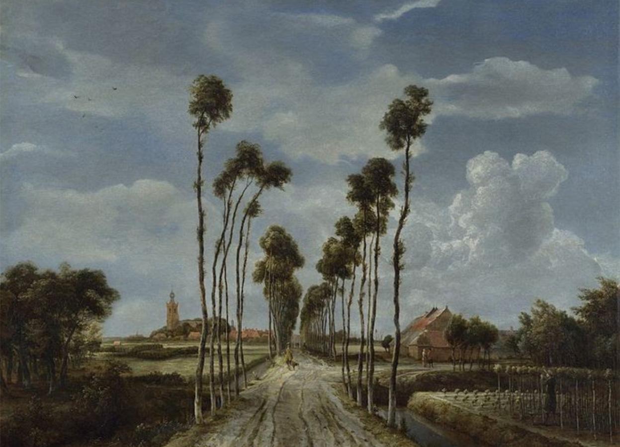 ミッデルハルニスの並木道
