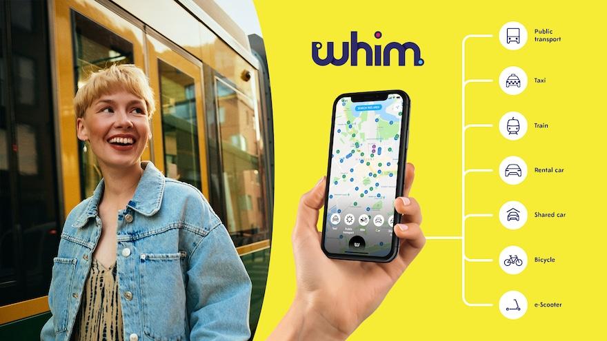 MaaSアプリ「whim」