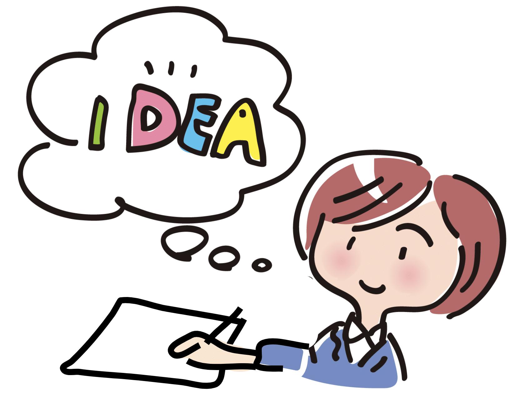 ペーパープロトタイピングは、頭の中のアイディアを出す行為